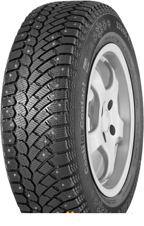 Tire Continental ContiIceContact 265/65R17 116T - picture, photo, image