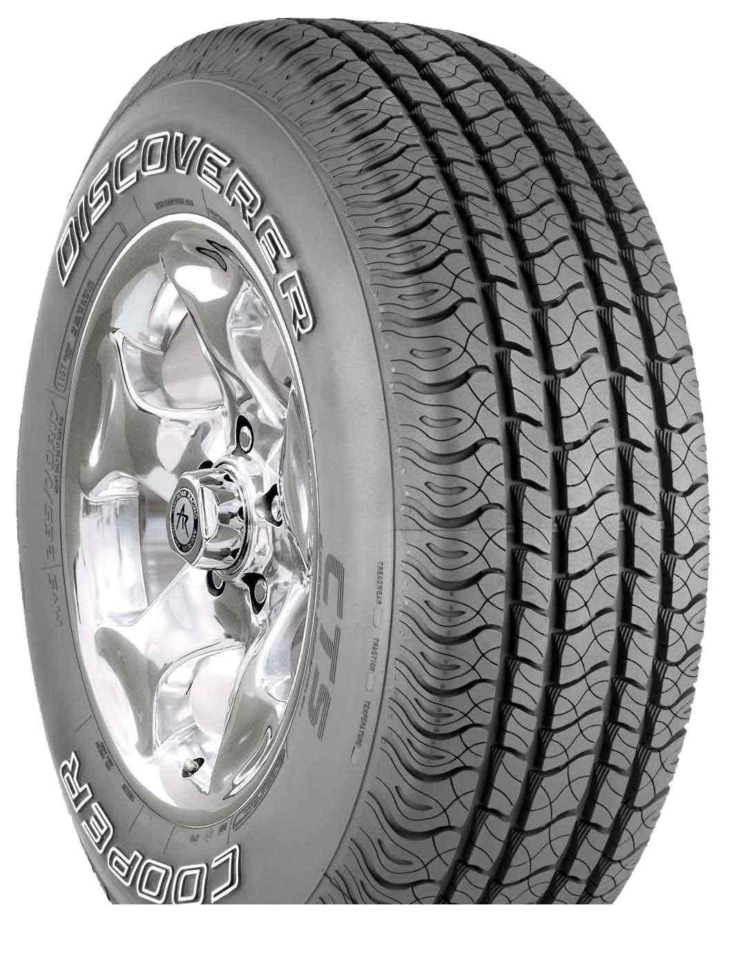 Tire Cooper Discoverer CTS 265/65R17 112T - picture, photo, image
